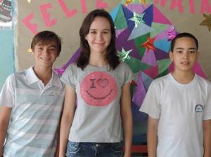 Breno Yoshi, Gabriela Rusa e Victor Probio